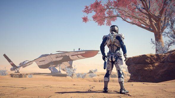 Mass Effect Andromeda Barren Planet