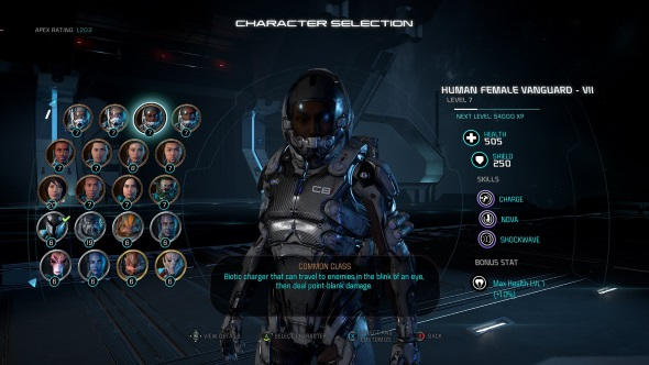 Mass Effect Andromeda multiplayer guide characters classes