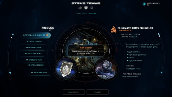 Mass Effect Andromeda multiplayer guide strike teams