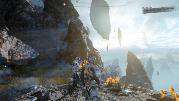 Mass Effect Andromeda PC graphics preset medium