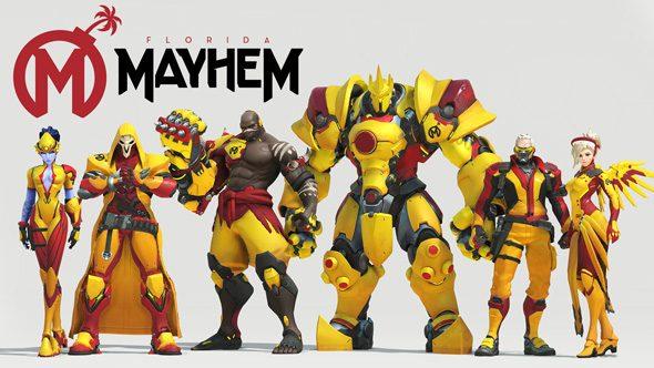 Florida Mayhem Overwatch team roster