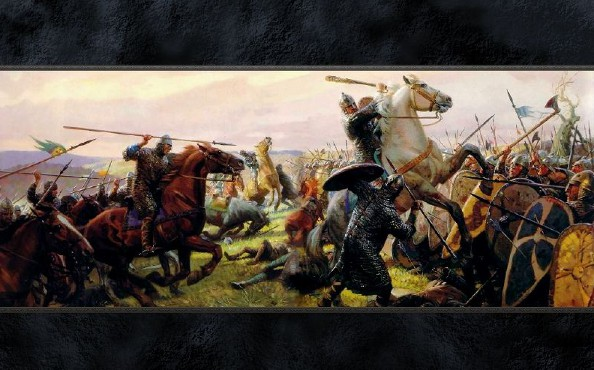 Image result for cool medieval war art headings
