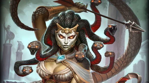Euryale Greek Mythology Gaze into the stunning...