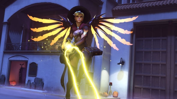 Best Overwatch custom games Mercy the Necromancer