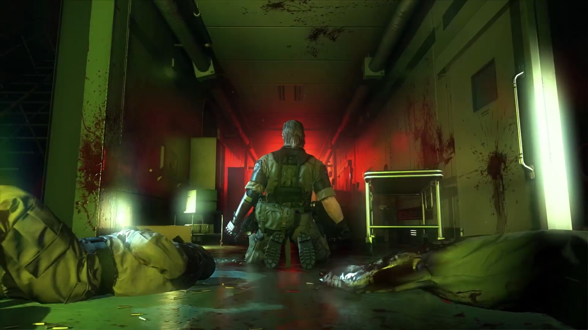 Metal Gear Solid V The Phantom Pain S E3 Trailer Is As Barmy As