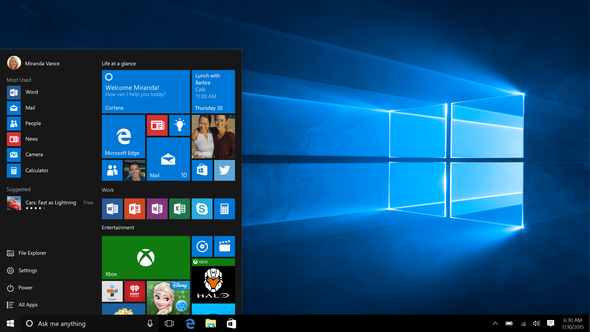 Microsoft Phil Spencer PC Windows 10 Xbox One 2017