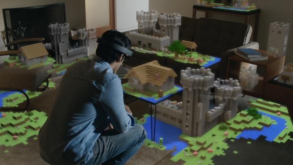 Microsoft HoloLens Minecraft