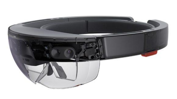 Microsoft HoloLens headset