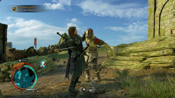 Middle-earth: Shadow of War PC review orc stabbing