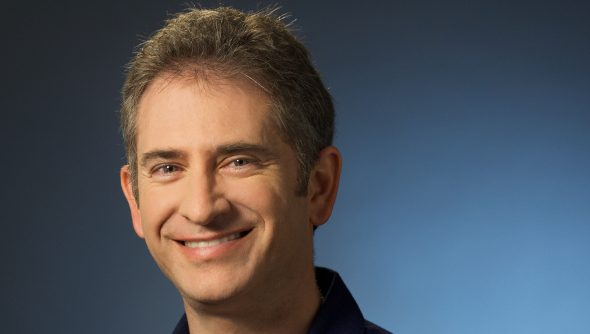 The 51-year old son of father (?) and mother(?) Michael Morhaime in 2019 photo. Michael Morhaime earned a  million dollar salary - leaving the net worth at  million in 2019