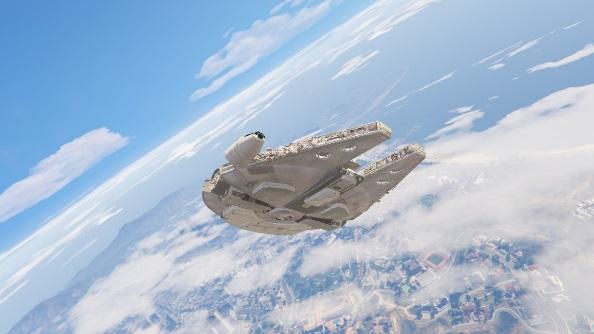 GTA 5 Millennium Falcon