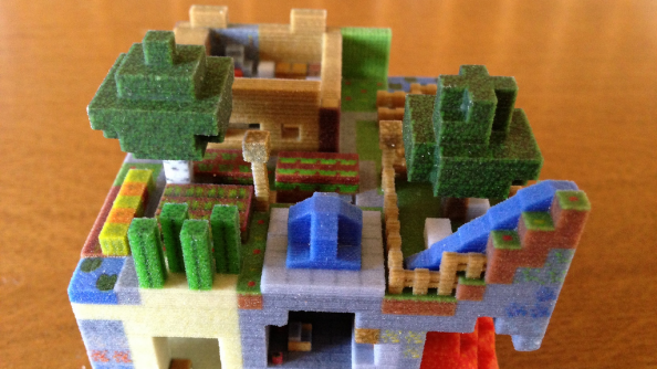 Mineways: Minecraft structures meet 3D printing, look gorgeous, drain your wallet