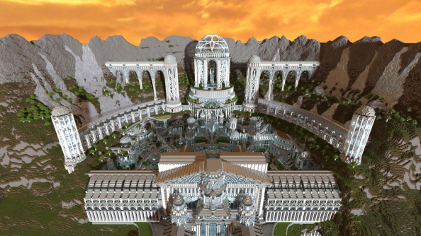 Greek Architecture Minecraft minecraft's city of adamantis: one player, three months and sixty
