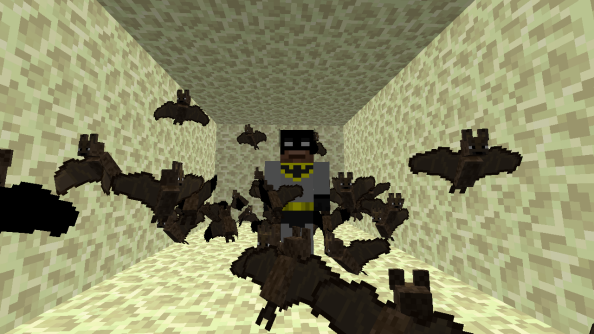 The latest Minecraft snapshot shows off bats, witches and improved sound