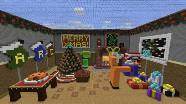 Minecraft 1.4.6 pre-release is out now, fixes fireworks, has Christmas surprise