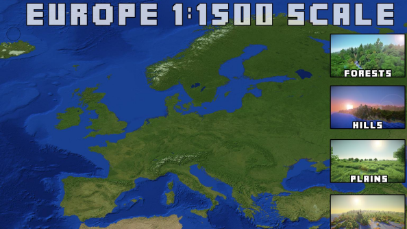 Minecraft fan will recreate the entire Earth to 1:1500 scale, may take some time