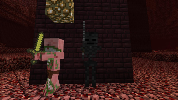 The latest Minecraft snapshot showcases the Wither skeleton
