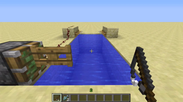 This Minecraft machine takes the tedium out of fishing