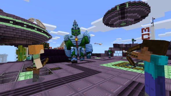 Minecraft Alien Invasion Add-On