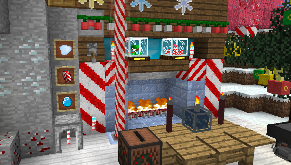 Minecraft Christmas.Get Merry With These Minecraft Christmas Mods Pcgamesn