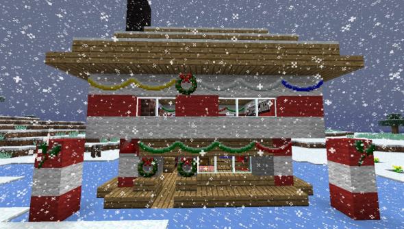 Minecraft_Christmas_House