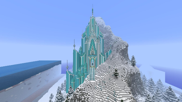 Minecraft Elsa's castle