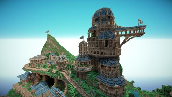 Minecraft_Temple