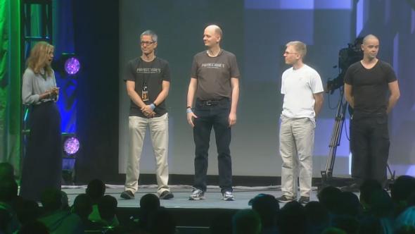 Minecraft VR Minecon 2016