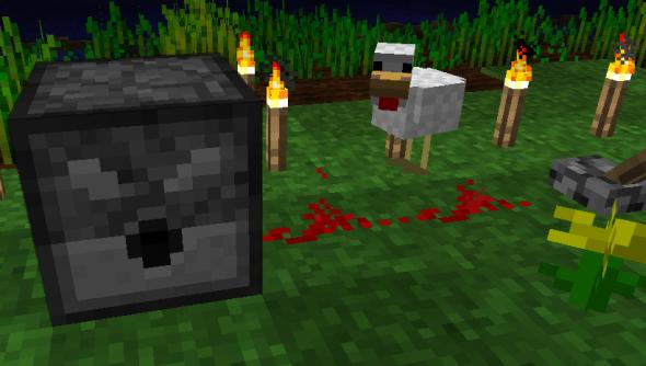 Minecraft_arrow_dispenser