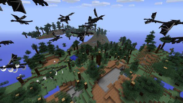 Minecraft Ender Dragon changes