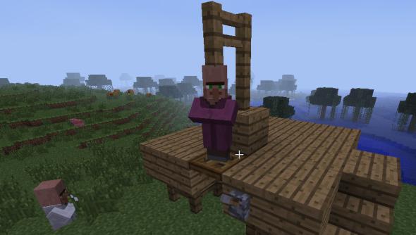 Minecraft_gallows