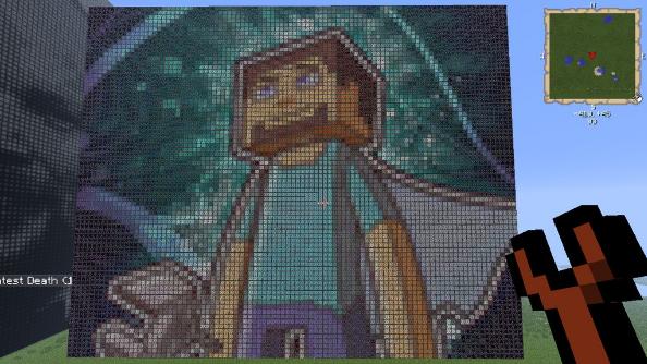 Minecraft portrait