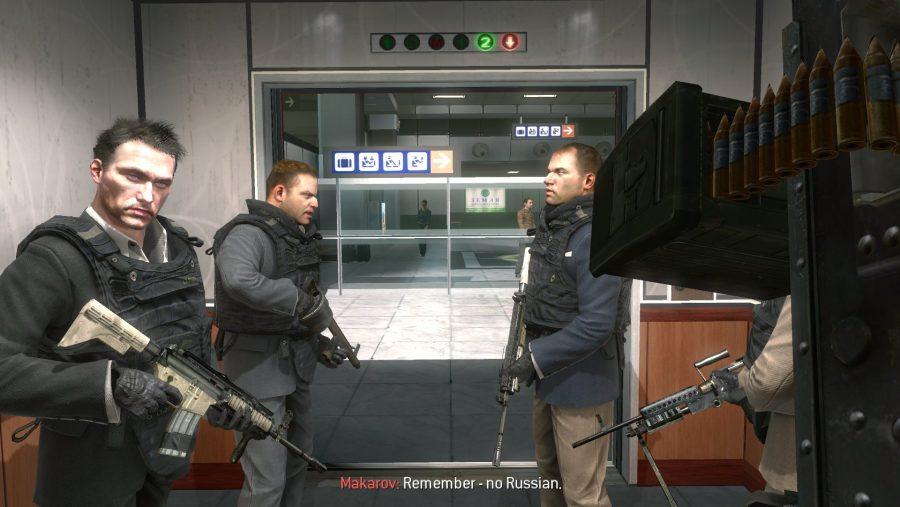 Modern Warfare 2 No Russian