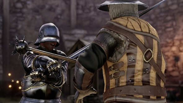 First person swordfighter Mordhau promises 64 player sieges and responsive swordplay