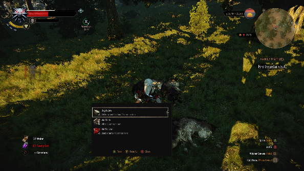 Increased Creature Loot Witcher 3 mod