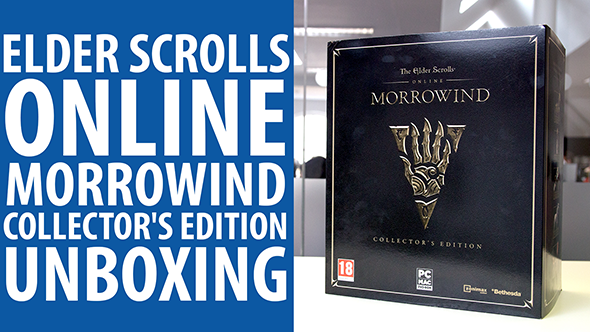 Check out the colossal statue inside Elder Scrolls Online: Morrowind's collector's edition