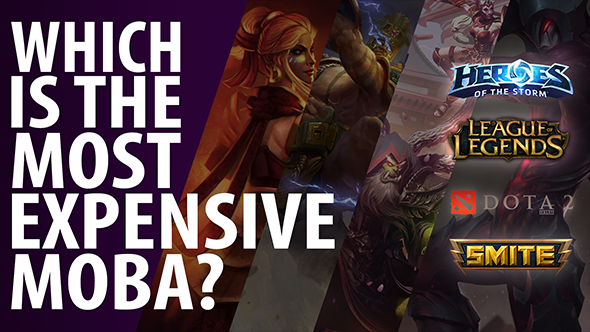 Which is the most expensive MOBA?