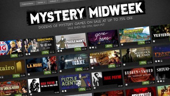 Steam Mystery Midweek Sale