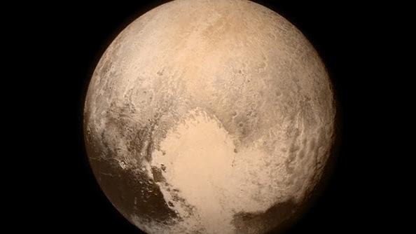 The New Horizons photo of Pluto