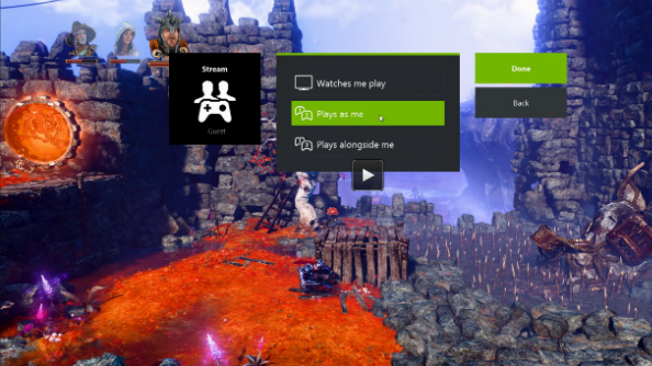 NVIDIA GameStream co-op