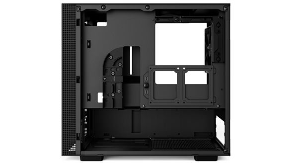 NZXT H200i cable management
