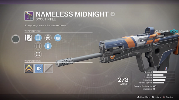 Destiny 2 Nameless Midnight