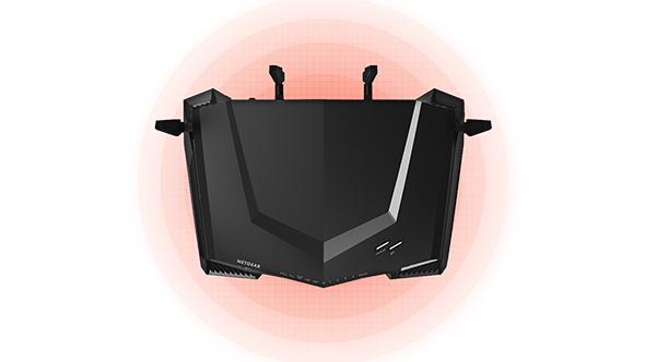 Netgear XR500 gaming router range