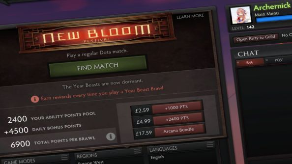 Dota 2 sees over one million players concurrently for New Bloom event; servers struggle with load