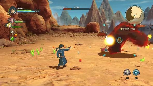 Ni No Kuni II Combat