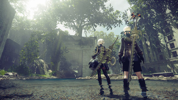 The open world of Nier: Automata has its predecessor's problem