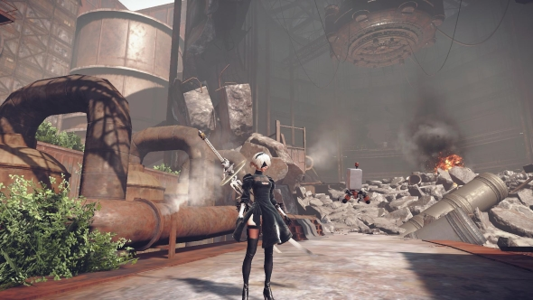Nier Automata low graphics settings