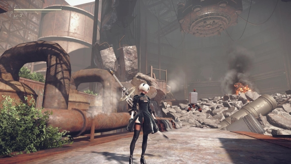 Nier Automata medium graphics settings