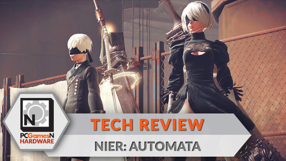 Nier: Automata PC graphics, performance and 4K analysis - the PCGamesN tech review
