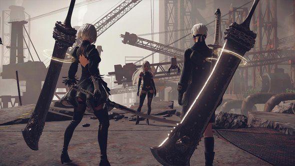 Nier Automata 3C3C1D119440927 DLC Square Enix New Colliseum